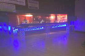 Emplacement Structures alu pour bars et espaces VIP