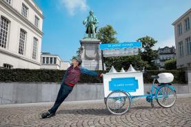 Emplacement Machine à crème glacée - Cornet de glace - Gaufres sucrées-salées BIO sur vélo - concept original