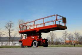 Emplacement Nacelle ciseaux S151-19E 4X4