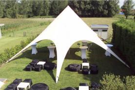 Emplacement Tentes solaires - starshade - chapiteaux - tonnelles pour vos événements, foires, salons, réceptions...