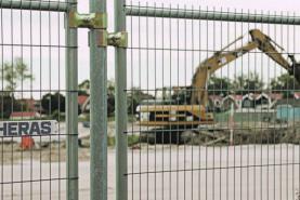 Emplacement Barrières Heras - clôtures temporaires - barrières de chantier