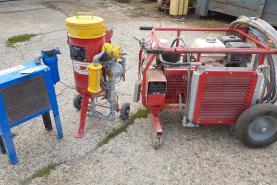 Emplacement Aérogommeuse,(aérogommage), Hydrogommeuse - Sableuse - UNIQUEMENT AVEC SERVICE