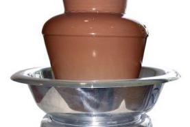 Emplacement Fontaine à chocolat, contenance 4 litres