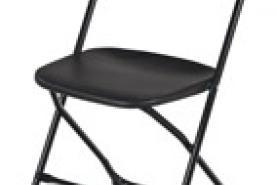 Emplacement Chaise pliable noir