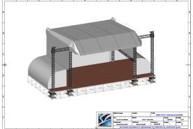 Emplacement Scène - Podium 16/12 - structures pour concerts, festivals, événements,...