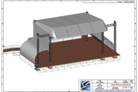 Emplacement Scène couverte - 20/14 - Podium - Structure pour concerts, festivals, évènements,...
