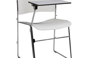 Emplacement Chaise blanche college - Mobilier de bureau - Moyenne et longue durée, min. 1 MOIS
