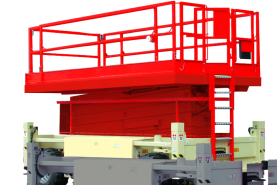 Emplacement Plateforme automotrice Diesel 15m