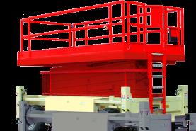 Emplacement Plateforme automotrice Diesel 12m
