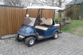 Emplacement Véhicules électriques - voiturettes  pour transporter 3 personnes + chauffeur