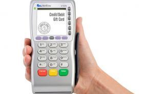 Emplacement Terminal de paiement pour cartes de débits et cartes de crédits