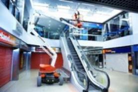Emplacement Nacelle télescopique articulée électrique A38E