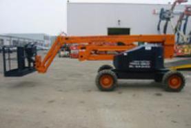 Emplacement Nacelle télescopique articulée Diesel AB50JRT