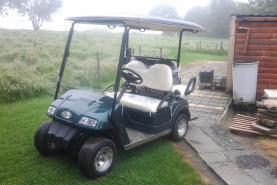 Emplacement Voiturette électrique - voiturette de Golf - transports VIP pour vos événements, golfcar, electrique