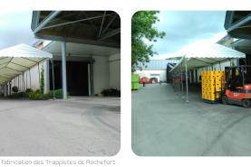Emplacement Chapiteau industriel - aménagement d'espace industriel