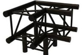 Emplacement Angle 3 directions C012 Black - Structure