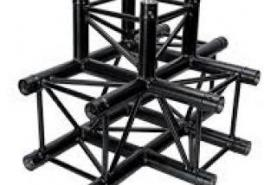 Emplacement Angle 4 directions C020 Black - Structure