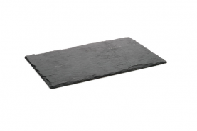 Emplacement Ardoise - plat / plateau ardoise 40x30cm - Matériel traiteur - Vaisselle