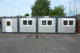 Emplacement Réfectoires - Assemblage de modules - Containers modulaires pour chantier, écoles, entreprises...