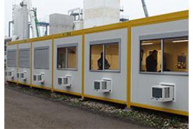 Emplacement Assemblage de modules habitables - BUREAUX et espaces de TRAVAIL avec sanitaires - Containers modulaires