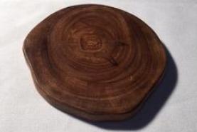 Emplacement Assiette en bois 11cm - Tree mini - Matériel traiteur - Verrines, Miniatures