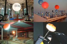 Emplacement Ballons Airstar – Ballons d'éclairage  - éclairage de chantier