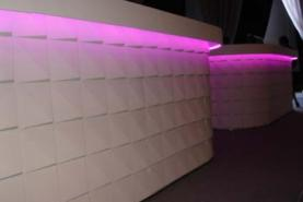 Emplacement Bar blanc lumineux - LED