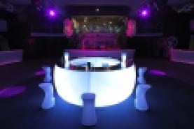 Emplacement Comptoir -  Bar Fiesta lumineux LED - Lumière blanche