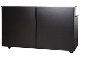 Emplacement Bar noir 2m - Mobilier