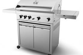 Emplacement Barbecue au gaz GrandHall avec couvercle en location pour vos événements, foires, salons, réceptions...