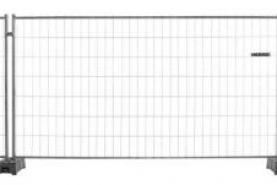 Emplacement Barrières de chantier 2.20m x 3.50m