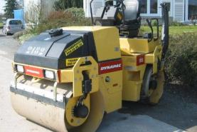Emplacement Rouleau compresseur - Plaques vibrantes et piloneuses à Tournai et Verviers - Machines de compactage pour chantier