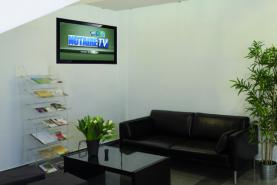 Emplacement Affichage dynamique sur écran TV pour salle d'attente de NOTAIRE