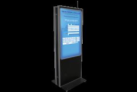 Emplacement Borne interactive- borne double grand écran tactile recto/verso