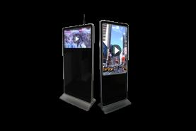 Emplacement Totem vidéo paysage 32 et 42 pouce- écran haute définition LCD FULL HD