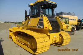 Emplacement Pousseur - Bouteur – Bulldozer avec guidage GPS