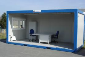 Emplacement Modules bureaux de chantier - construction modulaire - container modulaire pour réunion et espace de travail