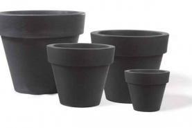 Emplacement Cache-pot gris 40cm - Pour plantes
