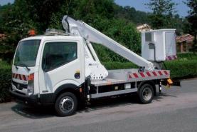 Emplacement Nacelle élévatrice - Camion pour travail en hauteur
