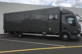 Emplacement Camion pour sport automobile - remorque - couchette - mobil-home