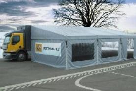 Emplacement Camion événementiel - Véhicule promotionnel personnalisé - truck accueil