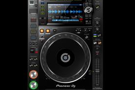 Emplacement Lecteur multi-formats pro Pioneer CDJ 2000 Nexus 2