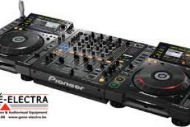 Emplacement Equipement DJ - Matériel sonorisation Kit pro ou Kit advanced (mix pioneer, hp electrovoice)