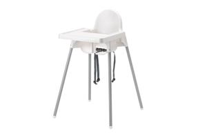 Emplacement Chaises hautes blanches en location - chaises hautes pour enfants - mobiliers pour vos événements, foires, salons...