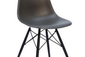 Emplacement Chaise Plastic sidechair wood - disponible en plusieurs couleurs - mobilier
