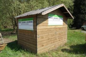 Emplacement Chalets en bois pour vos évènements - Pas disponibles fin novembre et décembre