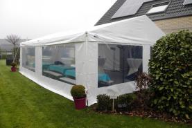 Emplacement Chapiteau 6x8 mètres - Tente - Tonnelle - Espace de réception avec vitres
