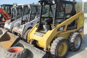 Emplacement Chargeurs articulés - chargeurs compacts - chargeurs télescopiques - chargeuses pour travaux routiers, industriels ou de carrière