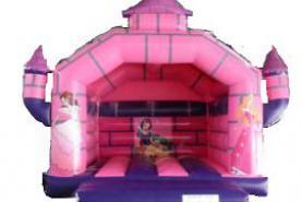 Emplacement Chateau gonflable princesse - Jeux gonflables