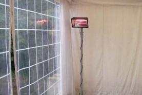 Emplacement Spot chauffant électrique 1300 watts 220/1 6amp - Chauffage - Température
